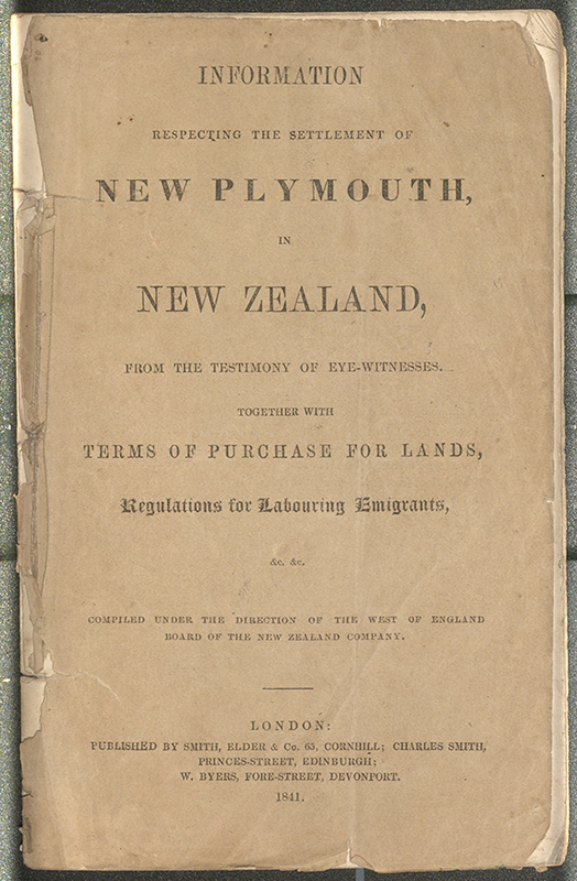 Enzb 1841 information respecting the settlement of new plymouth enzb 1841 information respecting the settlement of new plymouth in new zealand text p 1 24 solutioingenieria Image collections